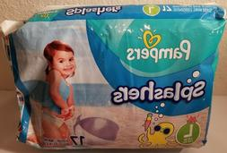 PACK PAMPERS SPLASHERS SIZE LARGE  DISPOSABLE SWIM PANTS DI