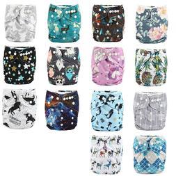 1 U PICK Baby Cloth Diaper Reusable Washable Adjustable Pock