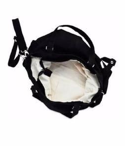 100% Organic Cotton Diaper Bag Mom Baby Carry All On Overnig