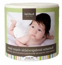 100 sheets flushable and fully biodegradable diaper