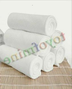 10PCS Baby Cotton Washable Reusable Soft Cloth Diaper Diaper