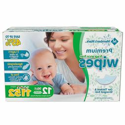 1152 Unscented Baby Wipes, Fragrance Free Infant Diaper Wipe