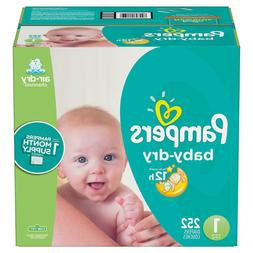 Pampers 12 Hr Baby Dry Disposable Baby Diapers 1,2,3,4,5,6 C