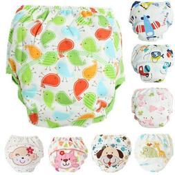 1Pcs Cute Baby Diapers Reusable Nappies Cloth Diaper Washabl