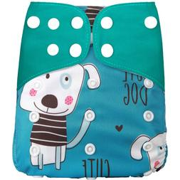 1Pcs <font><b>Reusable</b></font> Cloth <font><b>Diaper</b>