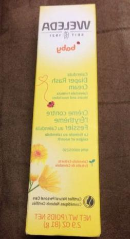 Weleda 2.9 oz Calendula Baby Diaper Rash Care Cream + For Mi