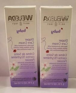 2 Weleda Baby Diaper Care Cream 1.7 Oz Each