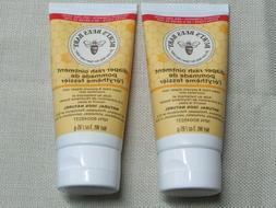 2 Pack Burt's Bees Baby Bee Diaper Rash Ointment 3oz exp 6/2