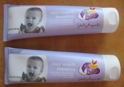 2 tubes Always My Baby diaper rash ointment soothes dry chaf
