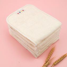 20pcs ALVA 4-Layer Bamboo Cloth Diaper Inserts For Reusable