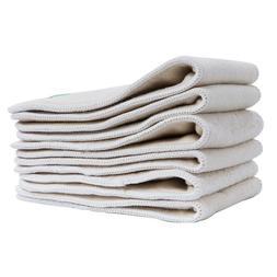 20PCS Ananbaby Hemp & Organic Cotton Insert 4 Layers Liner f