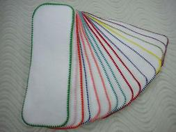 3 layers Cloth Diaper Liner Insert Soaker Doubler Bamboo Cot