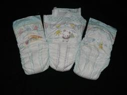 3 Samples of Diapers  Pampers baby-dry  Plus size 6+,7 & 8