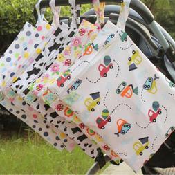 30*40cm cartoon single pocket diaper bag waterproof wet bag