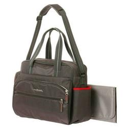 Eddie Bauer 3M Ashland Baby Diaper Bag - Gray/Red
