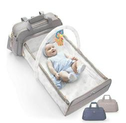 Confachi 4 In 1 Convertible Baby Diaper Bag NIB