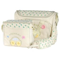 4 Pack Baby Diaper Nappy Changing Bag Set Bags Travel Mommy