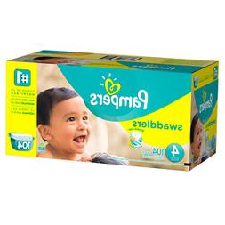 Pampers Swaddlers Size 4, 104 ea