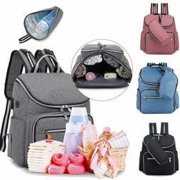 4Colors Maternity Diaper Bag Mom Backpack Large Capacity Bab