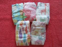 5 HONEST Diapers NEWBORN size 0 Baby Reborn Doll Variety Pri
