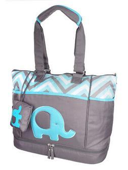 Baby Essentials 5-Piece Diaper Bag Set