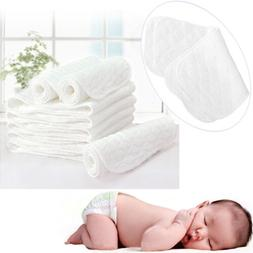 5PCS 60PCS Reusable Baby Cloth Diaper Nappy Liners Inserts 3