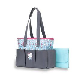 Hello Kitty 6-Pocket Tote Diaper Bag