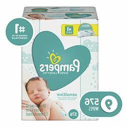 9 Packs Sensitive Water-Based Baby Diaper Wipes Hypoallergen
