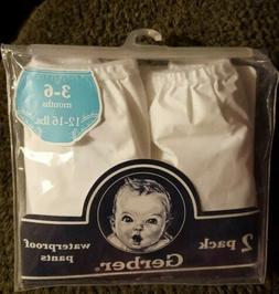 9 Gerber Waterproof Pants  Size 3-6 Month