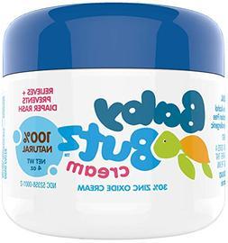 Baby Butz Diaper Rash Cream  All Natural 30% Zinc Oxide Diap