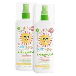 BabyGanics - mineral-based Sunscreen Spray Water Resistant F