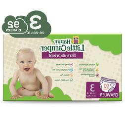 Babyganics Ultra Absorbent Diapers, Size 3, 92 Count