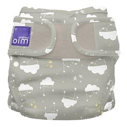Bambino Mio, Miosoft Cloth Diaper Cover, Cloud Nine, Size 2