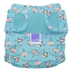 Bambino Mio, Miosoft Cloth Diaper Cover, Rainy Days, Size 2