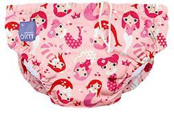 Bambino Mio, Reusable Swim Diaper, Mermaid, Small