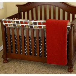 Cotton Tale Designs 4 Piece Houndstooth Bedding Set
