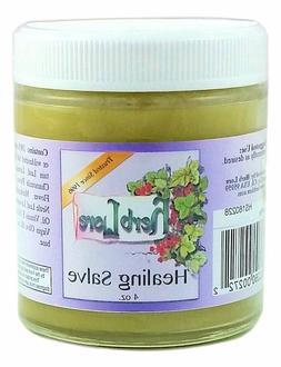 Herblore Organic Healing Salve - 4 oz Jar - For Diaper Rash