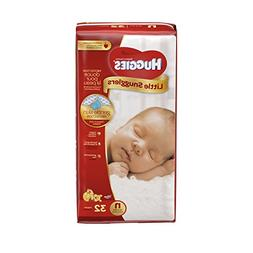 Huggies Diapers Little Snugglers Disney Size N  32 CT