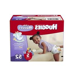 Huggies Little Movers Diapers, Size 4, Big Pack, 60 Count