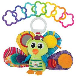LAMAZE - Jacque the Peacock Gift Set, Support Baby's Develop