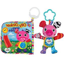 LAMAZE - Olly Oinker Gift Set, Baby's Cute Companion with C