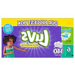 Luvs Diapers sz 6, 140 ct