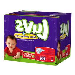 Luvs With Ultra Leakguards Size 1 Diapers 264 Count