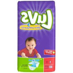 Luvs with Ultra Leakguards, Size 1 Diapers, 48 ea