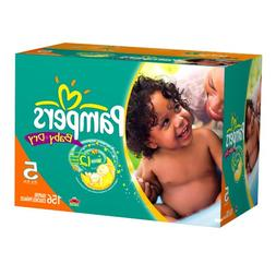 Pampers Baby Dry Diapers Economy Plus Pack, Size 5, 156 Coun