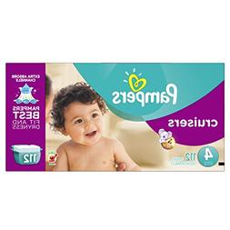 Pampers Cruisers Diapers Size 4 Giant Pack, 112 ea