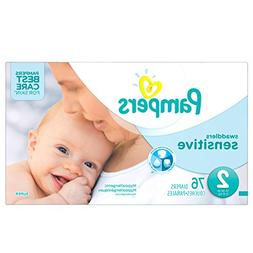 Pampers Swaddlers Sensitive Disposable Diapers Size 2, 76 Co