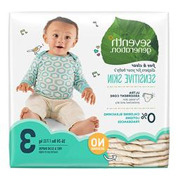 Seventh Generation Baby Diapers, Free and Clear for Sensitiv