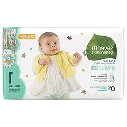 Seventh Generation Free and Clear Sensitive Skin Size 1 Baby