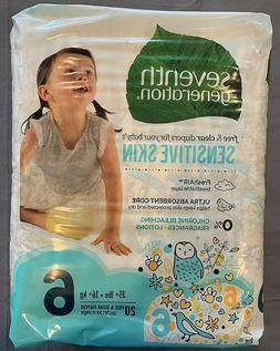 Seventh Generation Free and Clear Sensitive Skin Size 6 Baby